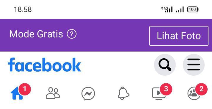 bagaimana cara mengubah facebook gratis menjadi mode data