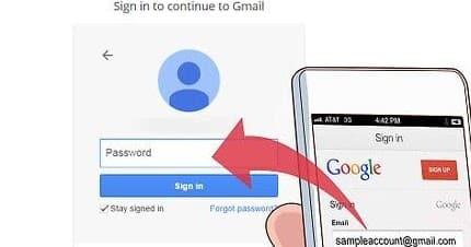 cara melihat password gmail sendiri di hp