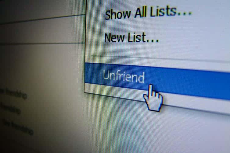 cara menghapus pertemanan di facebook dengan cepat